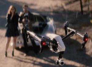 Drone DJI Inspire 1 volando