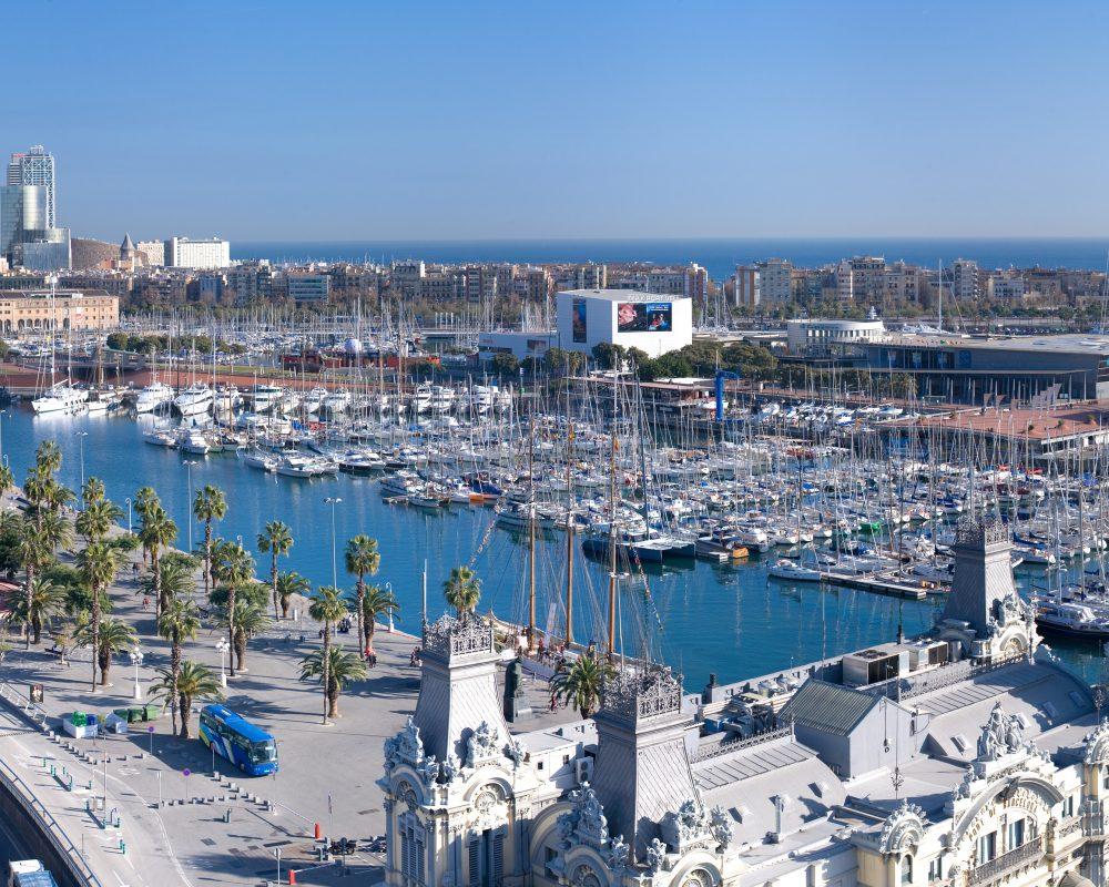 Imagen aerea de Barcelona