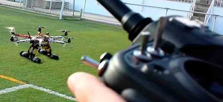 Aprender a volar un Drone