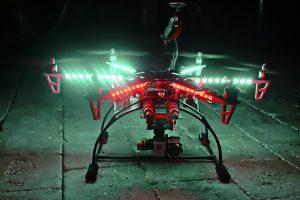 Riesgo de un drone