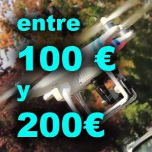 Drones entre 100 y 200€