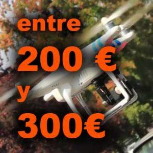 Drones de 200 a 300€