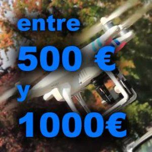 Drones de 500 a 1000€