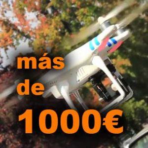 Drones de más de 1000€