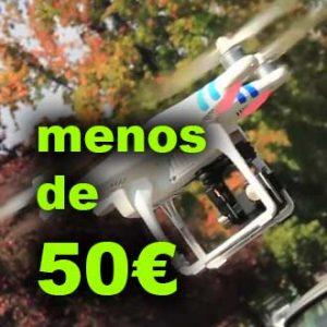 Drones de menos de 50€