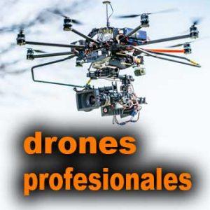 Drones profesionales de 100 a 200 euros.