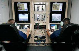 Los drones son operativos a distancia