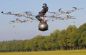 Usos raros de los drones