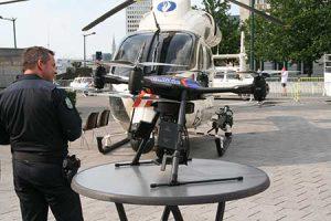 Vigilancia a distancia con drones