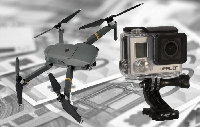 Drones baratos para GoPro