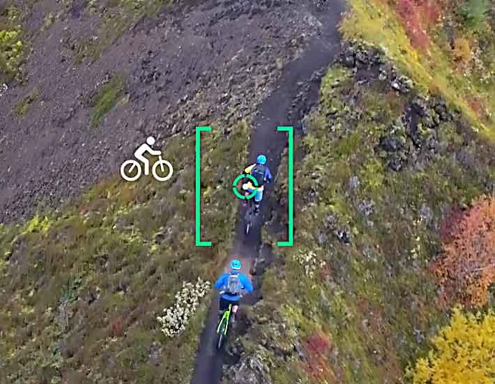 Active Track Phantom 4 bicicleta