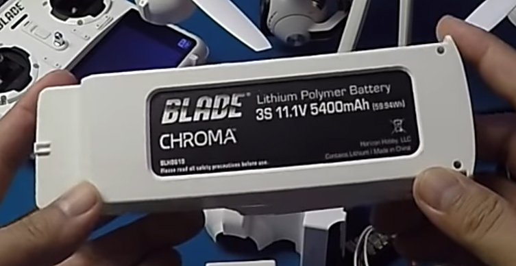 Batería de 6300 mAh del drone Blade Chrome